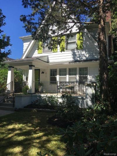 Birmingham Single Family Home For Sale: 611 Lakeview Avenue