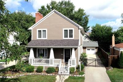 Royal Oak Single Family Home For Sale: 620 Oakland Avenue