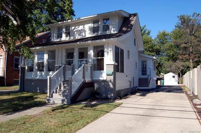ROYAL OAK Single Family Home For Sale: 2014 Crooks Road