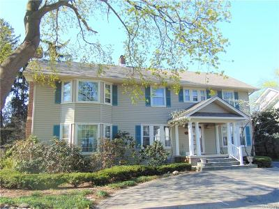 Birmingham Single Family Home For Sale: 623 Bloomfield Court