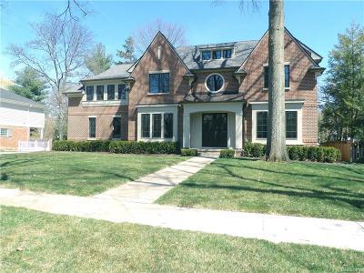 Birmingham Single Family Home For Sale: 1298 Brookwood