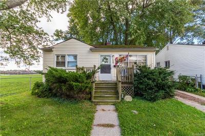 Hazel Park Single Family Home For Sale: 1008 E Coy Avenue