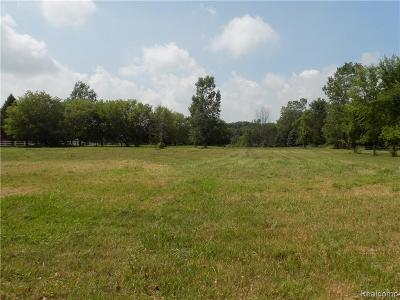 Brandon Twp Residential Lots & Land For Sale: 591 Country Meadow Tri