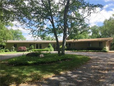 Bloomfield Hills Single Family Home For Sale: 1720 Hammond Court