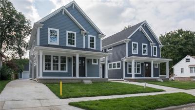 ROYAL OAK Single Family Home For Sale: 1823 N Center Street