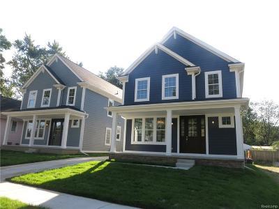 ROYAL OAK Single Family Home For Sale: 1827 N Center Street