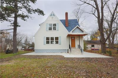 Waterford, Waterford Twp Single Family Home For Sale: 4735 Elizabeth Lake Road