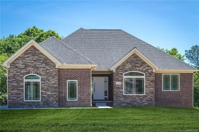 City Of The Vlg Of Clarkston, Clarkston, Independence, Independence Twp Single Family Home For Sale: 5411 Morgan Lake