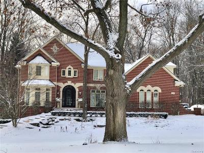 Milford Twp Single Family Home For Sale: 1722 S Hidden Valley Drive E