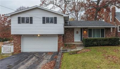 Waterford Twp Single Family Home For Sale: 4332 Lanette Drive