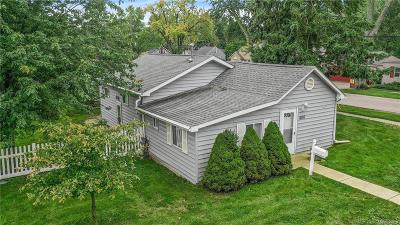 Lake Orion Single Family Home For Sale: 406 Atwater Street