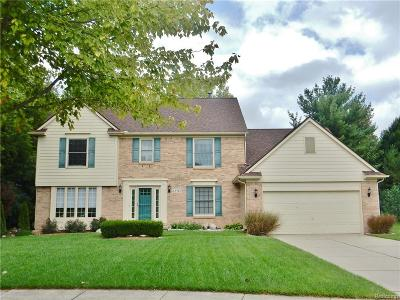 Novi Single Family Home For Sale: 42762 Wimbleton Way