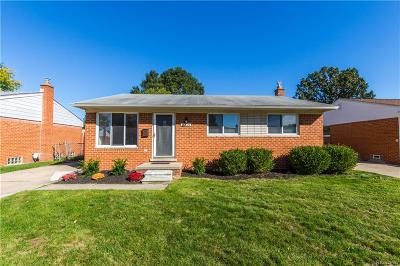 Madison Heights Single Family Home Pending: 27806 Osmun Street