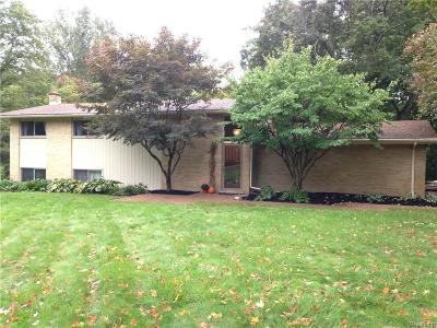 Farmington Hills Single Family Home For Sale: 38287 Tralee Trail