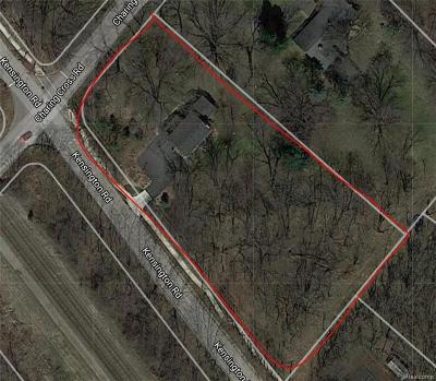 Bloomfield Twp Residential Lots & Land For Sale: 4681 Charing Cross Road