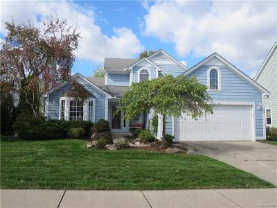 Auburn Hills Single Family Home For Sale: 834 Chase Way Boulevard