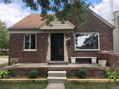 Southgate MI Single Family Home For Sale: $129,000