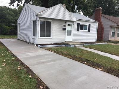 Madison Heights MI Rental For Rent: $900