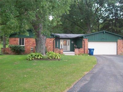 White Lake Single Family Home For Sale: 4141 England Beach Road