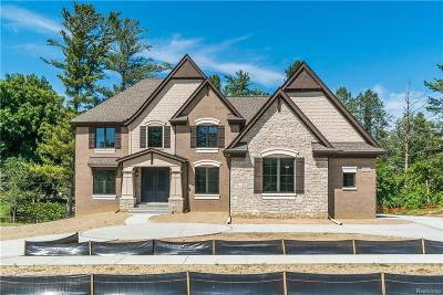 Novi Single Family Home For Sale: 22447 Montebello Court