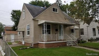 Single Family Home For Sale: 19458 Binder Street
