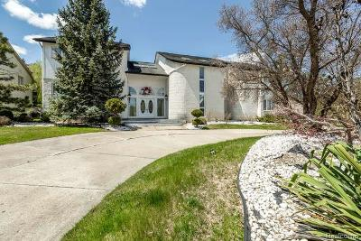 West Bloomfield, West Bloomfield Twp Single Family Home For Sale: 5250 Marlwood Drive