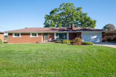 Waterford Twp Single Family Home For Sale: 2954 Shawnee Lane