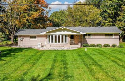 Single Family Home For Sale: 8160 Foster Road
