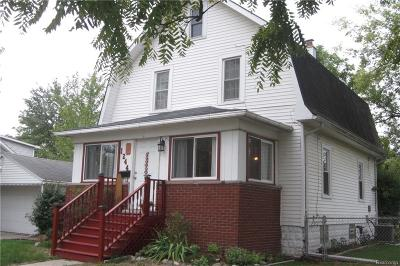 Wyandotte Single Family Home For Sale: 1244 6th Street