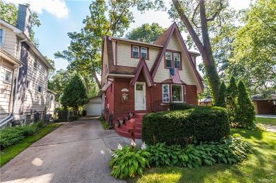 Ferndale Single Family Home For Sale: 935 W Drayton Street