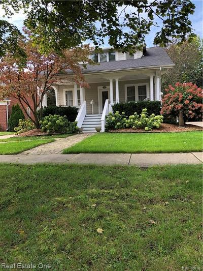 Birmingham Single Family Home For Sale: 1460 Maryland Boulevard