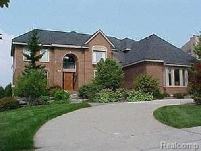 West Bloomfield, West Bloomfield Twp Single Family Home For Sale: 7052 Trailway Court