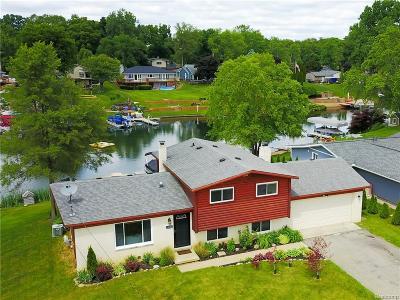 White Lake Single Family Home For Sale: 10082 Cedar Shores Drive
