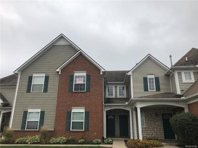 Shelby Twp Condo/Townhouse For Sale: 1976 Monarch Drive