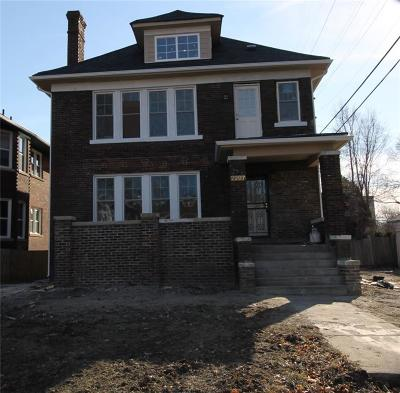 Detroit Single Family Home For Sale: 2297 Lothrop Street
