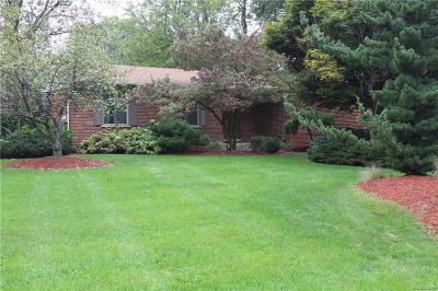 White Lake Single Family Home For Sale: 7371 Ellingrove Drive