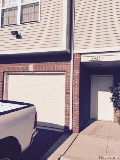 Sterling Heights Condo/Townhouse For Sale: 8460 Heywood Circle