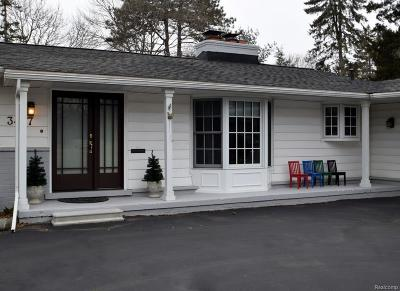 Bloomfield Twp Single Family Home For Sale: 3497 Bennington Court