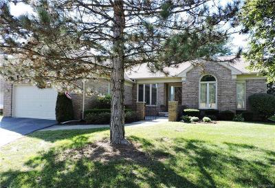 Clinton Twp Condo/Townhouse For Sale: 39753 Mount Elliott Drive