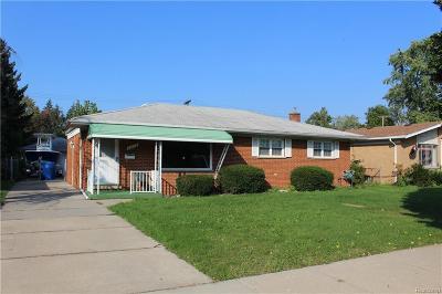Dearborn Heights Single Family Home For Sale: 25712 W Warren Av Street