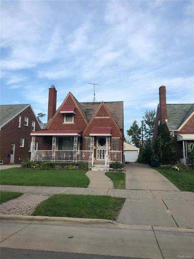 Dearborn MI Single Family Home For Sale: $152,900