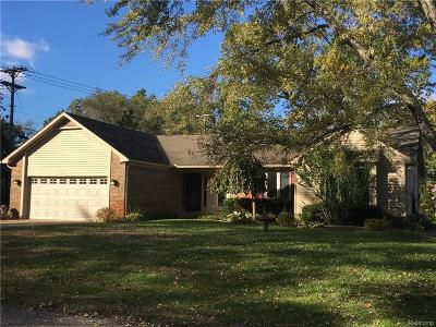 Commerce Single Family Home For Sale: 1580 Carthage