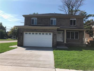 Allen Park, Lincoln Park, Southgate, Wyandotte, Taylor, Riverview, Brownstown Twp, Trenton, Woodhaven, Rockwood, Flat Rock, Grosse Ile Twp, Dearborn, Gibraltar Single Family Home For Sale: 1905 Canterbury Street S