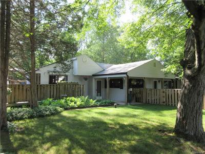 Commerce Twp Single Family Home For Sale: 2298 Glen Iris