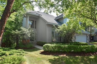 West Bloomfield, West Bloomfield Twp Condo/Townhouse For Sale: 4937 Fairway Ridge Circle #9