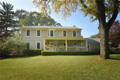 TROY Single Family Home For Sale: 5715 Andover Road