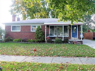 Trenton Single Family Home For Sale: 3628 Norwood Drive