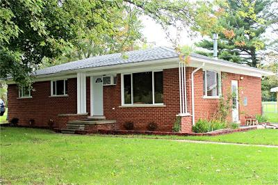 CANTON Single Family Home For Sale: 51190 Ford Road