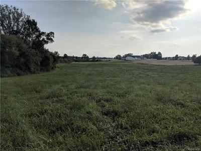 Clinton Twp Residential Lots & Land For Sale: Clinton-Macon Road