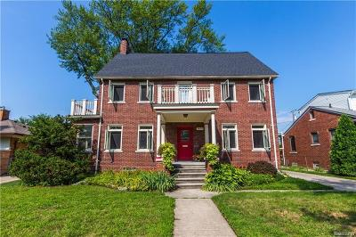 Royal Oak Single Family Home For Sale: 1409 Sunset Boulevard